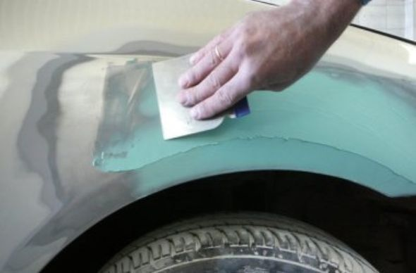 Подготовка кузова к покраске своими руками видео