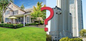 Нелёгкий выбор между квартирой и частным домом